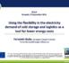 Flexibilité des besoins en électricité - Sondage européen